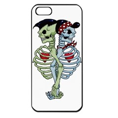 Love me forever Apple iPhone 5 Seamless Case (Black)