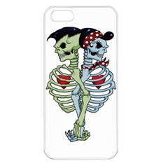 Love me forever Apple iPhone 5 Seamless Case (White)