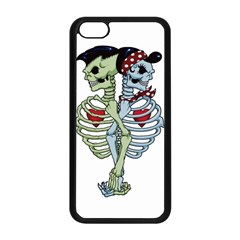 Love me forever Apple iPhone 5C Seamless Case (Black)