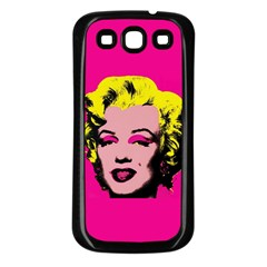 Warhol Monroe Samsung Galaxy S3 Back Case (black)