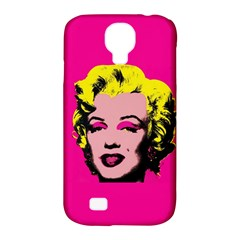 Warhol Monroe Samsung Galaxy S4 Classic Hardshell Case (pc+silicone)