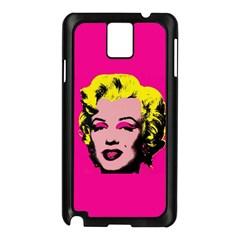 Warhol Monroe Samsung Galaxy Note 3 N9005 Case (black)