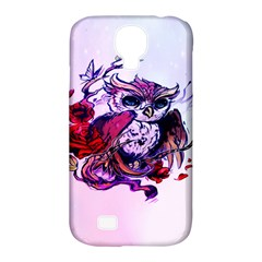 Spring Owl Samsung Galaxy S4 Classic Hardshell Case (PC+Silicone)