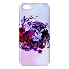 Spring Owl iPhone 5S Premium Hardshell Case