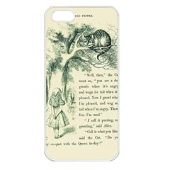 Alice in Bookland Apple iPhone 5 Seamless Case (White)