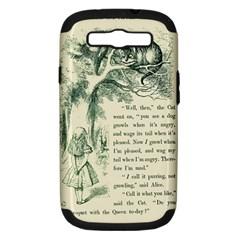 Alice In Bookland Samsung Galaxy S Iii Hardshell Case (pc+silicone)
