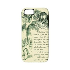 Alice in Bookland Apple iPhone 5 Classic Hardshell Case (PC+Silicone)