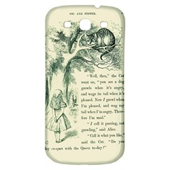 Alice In Bookland Samsung Galaxy S3 S Iii Classic Hardshell Back Case