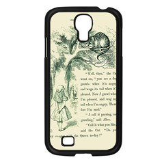 Alice in Bookland Samsung Galaxy S4 I9500/ I9505 Case (Black)
