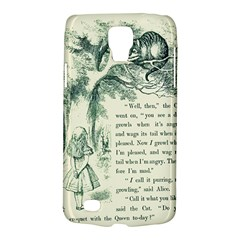 Alice in Bookland Samsung Galaxy S4 Active (I9295) Hardshell Case