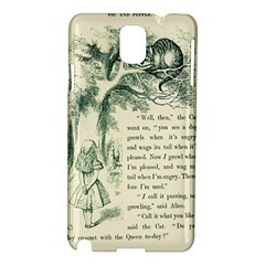 Alice in Bookland Samsung Galaxy Note 3 N9005 Hardshell Case