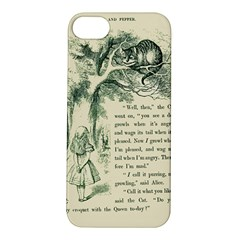 Alice In Bookland Apple Iphone 5s Hardshell Case