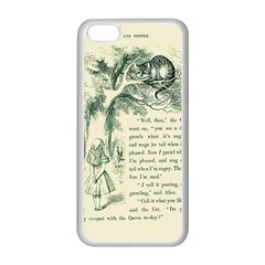 Alice In Bookland Apple Iphone 5c Seamless Case (white)