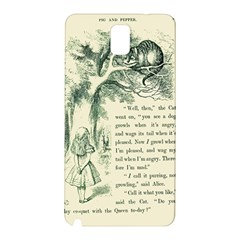 Alice in Bookland Samsung Galaxy Note 3 N9005 Hardshell Back Case