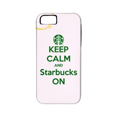 Keep Calm and Starbucks Apple iPhone 5 Classic Hardshell Case (PC+Silicone)