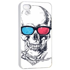 3death Apple Iphone 4/4s Seamless Case (white)