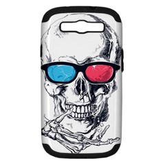 3death Samsung Galaxy S Iii Hardshell Case (pc+silicone)