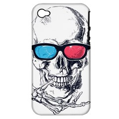 3death Apple Iphone 4/4s Hardshell Case (pc+silicone)