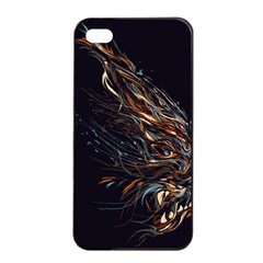 A Beautiful Beast Apple iPhone 4/4s Seamless Case (Black)
