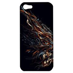 A Beautiful Beast Apple iPhone 5 Hardshell Case