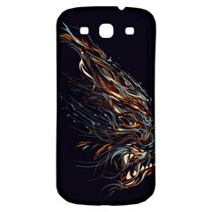 A Beautiful Beast Samsung Galaxy S3 S III Classic Hardshell Back Case