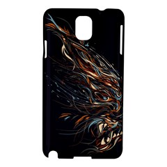 A Beautiful Beast Samsung Galaxy Note 3 N9005 Hardshell Case