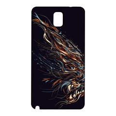 A Beautiful Beast Samsung Galaxy Note 3 N9005 Hardshell Back Case