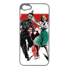 Dance Of The Dead Apple Iphone 5 Case (silver)
