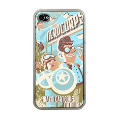 Nerdcorps Apple iPhone 4 Case (Clear)