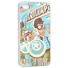 Nerdcorps Apple Iphone 4/4s Seamless Case (white)
