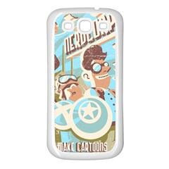 Nerdcorps Samsung Galaxy S3 Back Case (White)