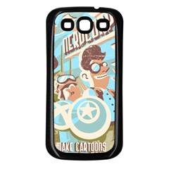 Nerdcorps Samsung Galaxy S3 Back Case (Black)