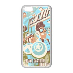 Nerdcorps Apple Iphone 5c Seamless Case (white)