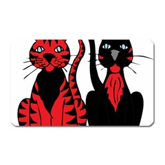 Cool Cats Magnet (Rectangular)