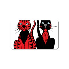 Cool Cats Magnet (Name Card)