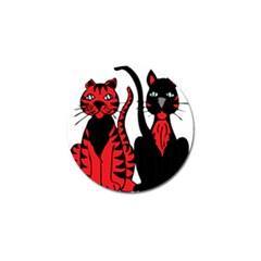 Cool Cats Golf Ball Marker