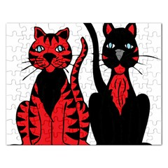 Cool Cats Jigsaw Puzzle (Rectangle)