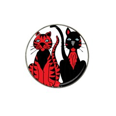 Cool Cats Golf Ball Marker 4 Pack (for Hat Clip)