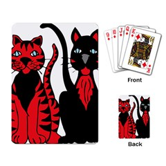 Cool Cats Playing Cards Single Design