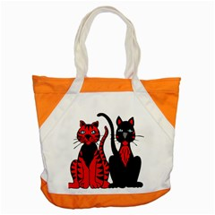 Cool Cats Accent Tote Bag