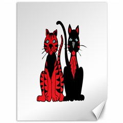 Cool Cats Canvas 36  x 48  (Unframed)