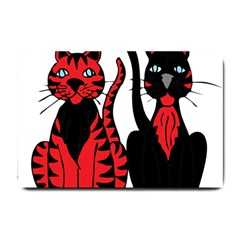 Cool Cats Small Door Mat