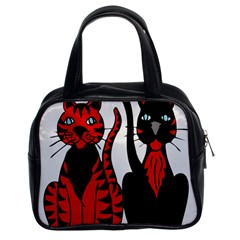Cool Cats Classic Handbag (Two Sides)