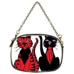 Cool Cats Chain Purse (one Side)