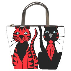 Cool Cats Bucket Handbag