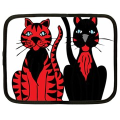 Cool Cats Netbook Sleeve (xl)