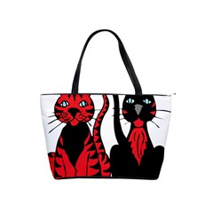 Cool Cats Large Shoulder Bag