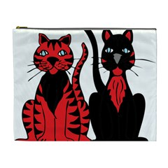 Cool Cats Cosmetic Bag (XL)