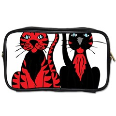 Cool Cats Travel Toiletry Bag (Two Sides)