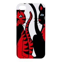 Cool Cats Apple Iphone 4/4s Hardshell Case